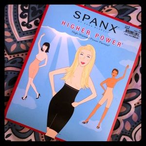 NWT- Spanx Higher Power High Waisted Panties